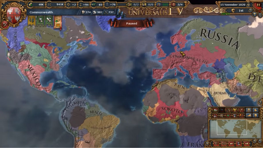 Europa Universalis Iv Recenzja Gry Allegro Pl