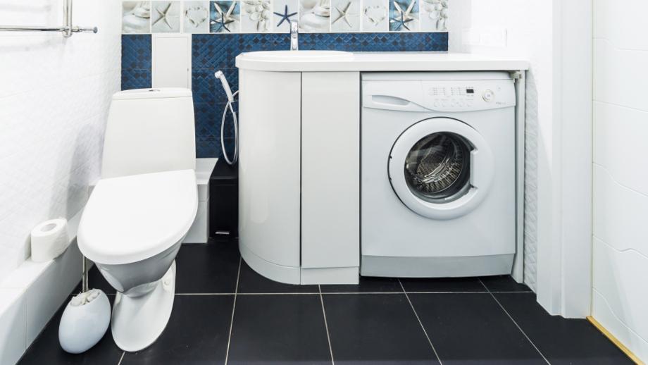 Jak ukryć pralkę w łazience?