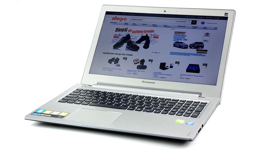 Test laptopa Lenovo IdeaPad Z510