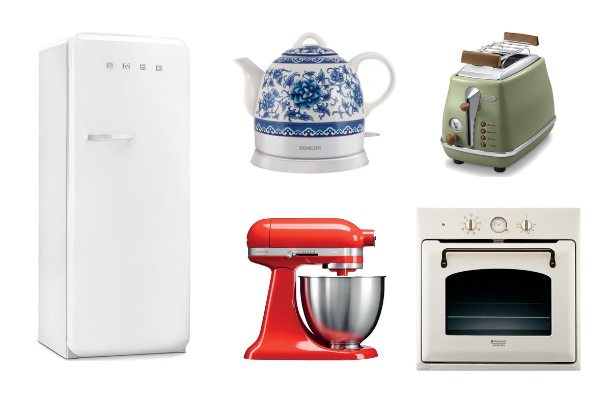1 domáce spotrebiče v starom štýle