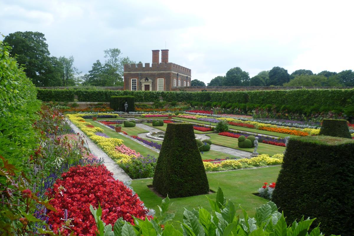 geometrická záhrada