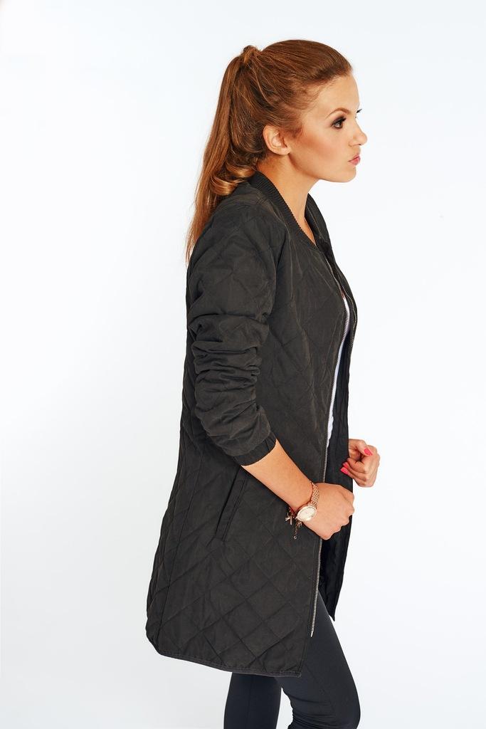 Płaszcz ONLY JDYTREASURE QUILTED LONG JACKET RP2 OTW 15126435 czarny XS