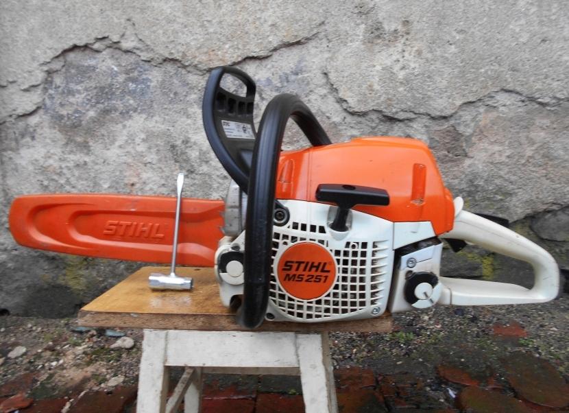 Pila Spalinowa Stihl Ms 251 3km 2011r Stan Bdb 7719266920 Oficjalne Archiwum Allegro