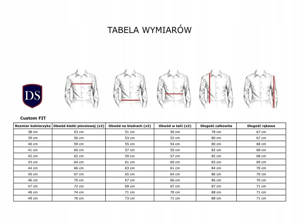 Koszula Męska Di Selentino Bordeaux Custom_47 7173680069  KHI52