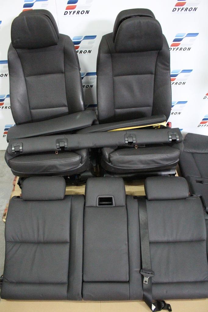 Bmw E61 Lci Siedzenia Leder Dakota Schwarz Lcsw 7231412593