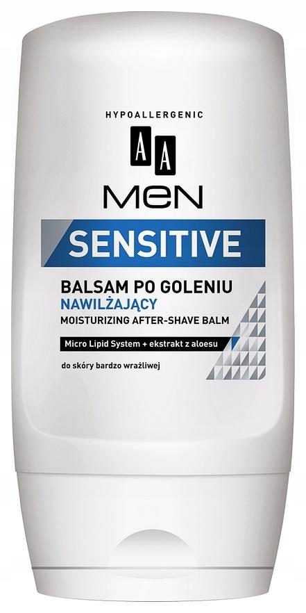 AA Men Sensitive NAWILŻAJĄCY BALSAM PO GOLENIU