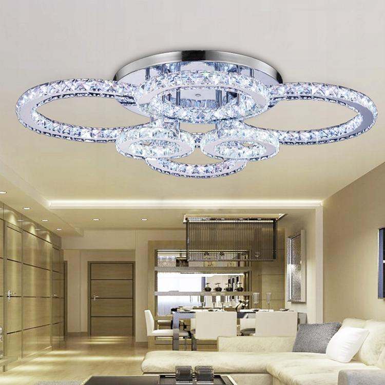 Piękne lampy kryształowe , led