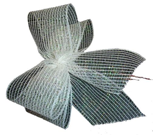 Zlote Srebrne Biale Jak Snieg Kokardki Choinka 7731244520 Oficjalne Archiwum Allegro