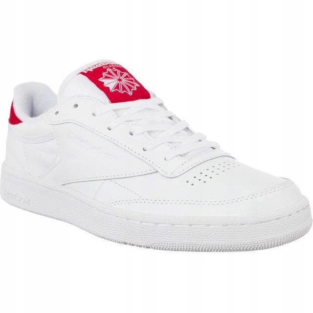 Białe Skórzane Buty Damskie Sportowe Reebok r.45