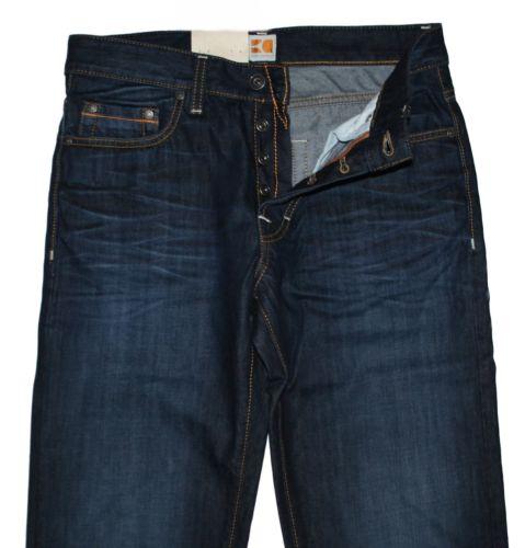 Spodnie Hugo Boss 50200932 Dark Blue Denim Jeans