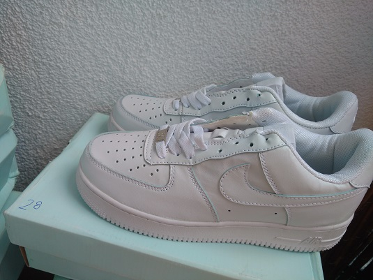 BUTY NIKE AIR FORCE 1 LOW 07 ALL WHITE 28 r.40