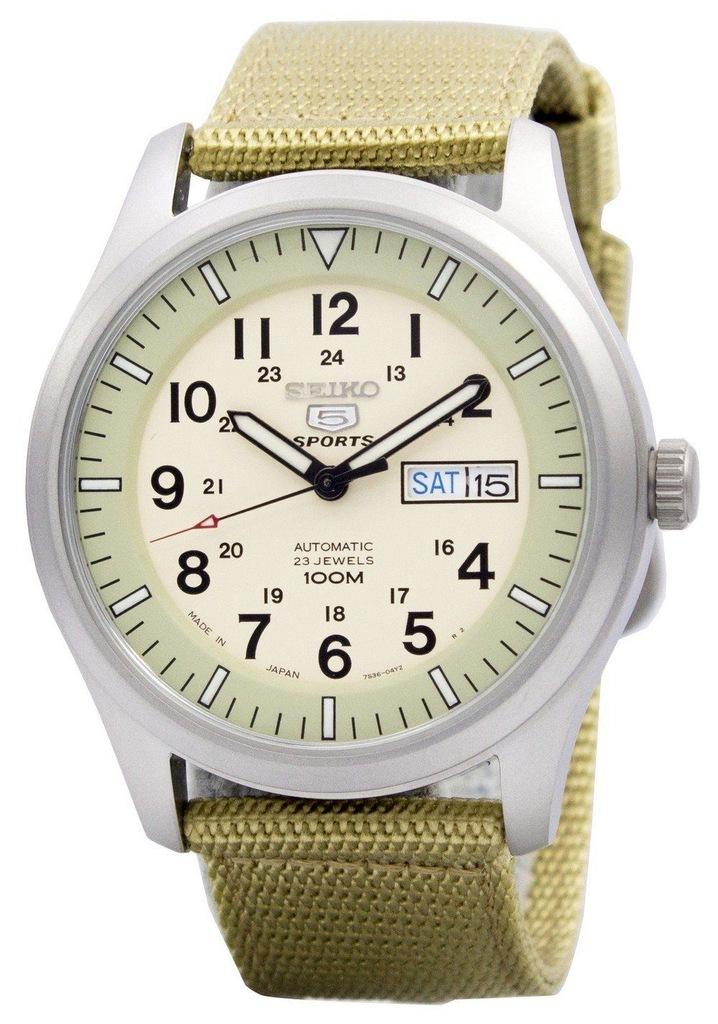 Męski zegarek SEIKO SNZG07J1