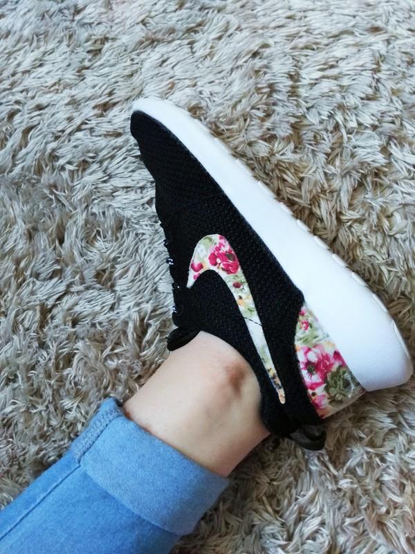 buty damskie nike w kwiaty