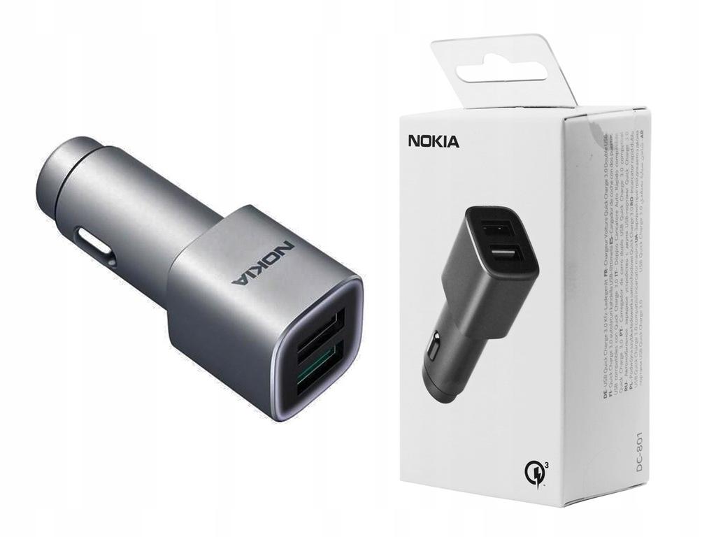 Lumia 532 540 | Ładowarka samochodowa Nokia QC 3.0
