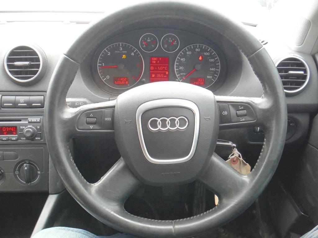 Kierownica Audi A3 8p Sportback Lift N7a 7223967717 Oficjalne Archiwum Allegro