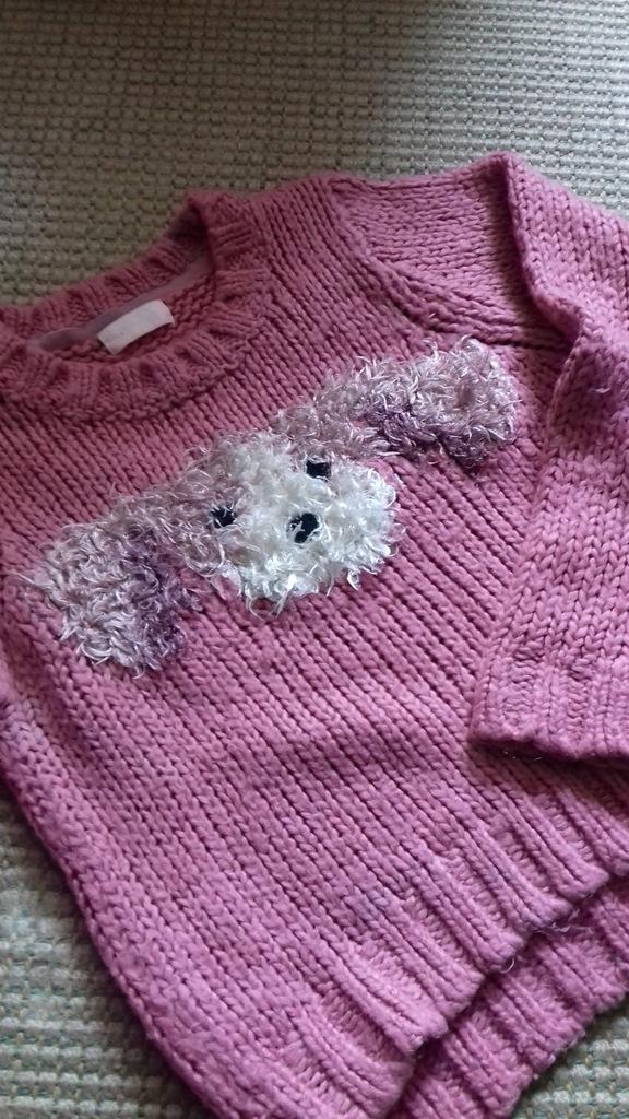 sweterek next 7-8 lat 128 cm