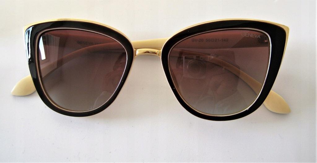 okulary przeciwsłoneczne kocie GENEVA polaryzacja