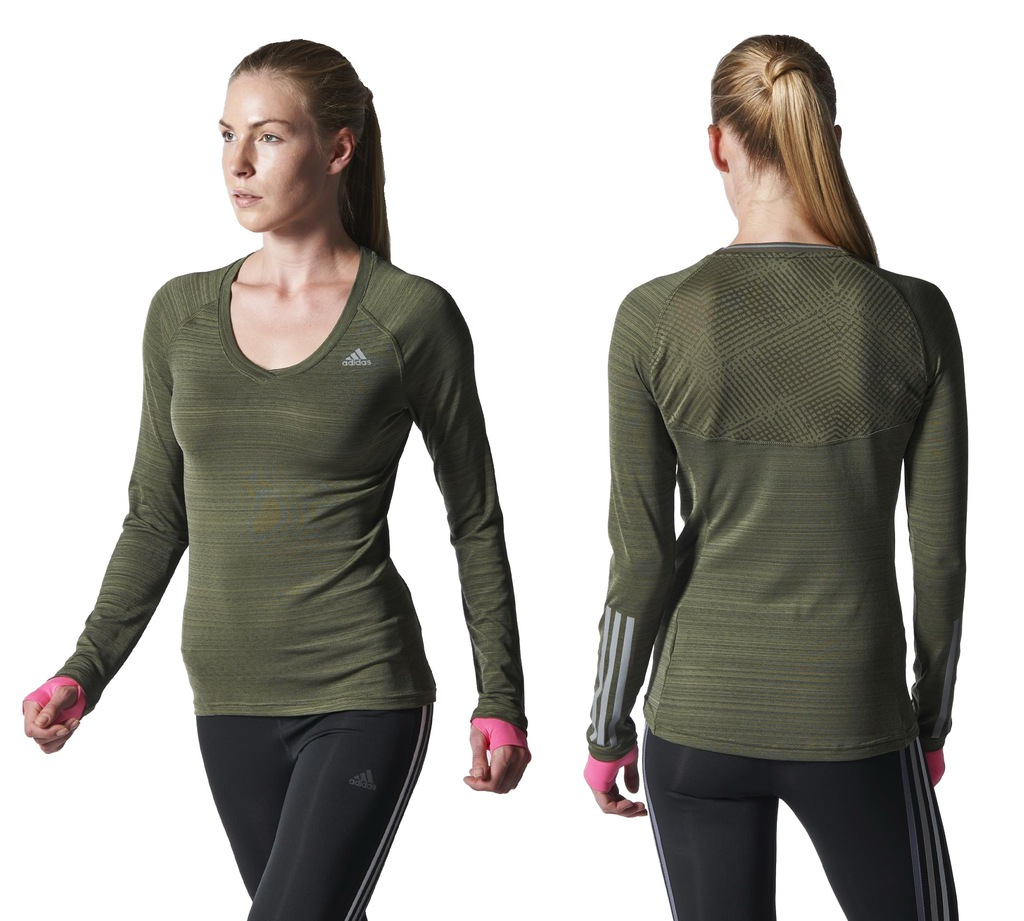 adidas Womens Running Supernova Long Sleeve Tee