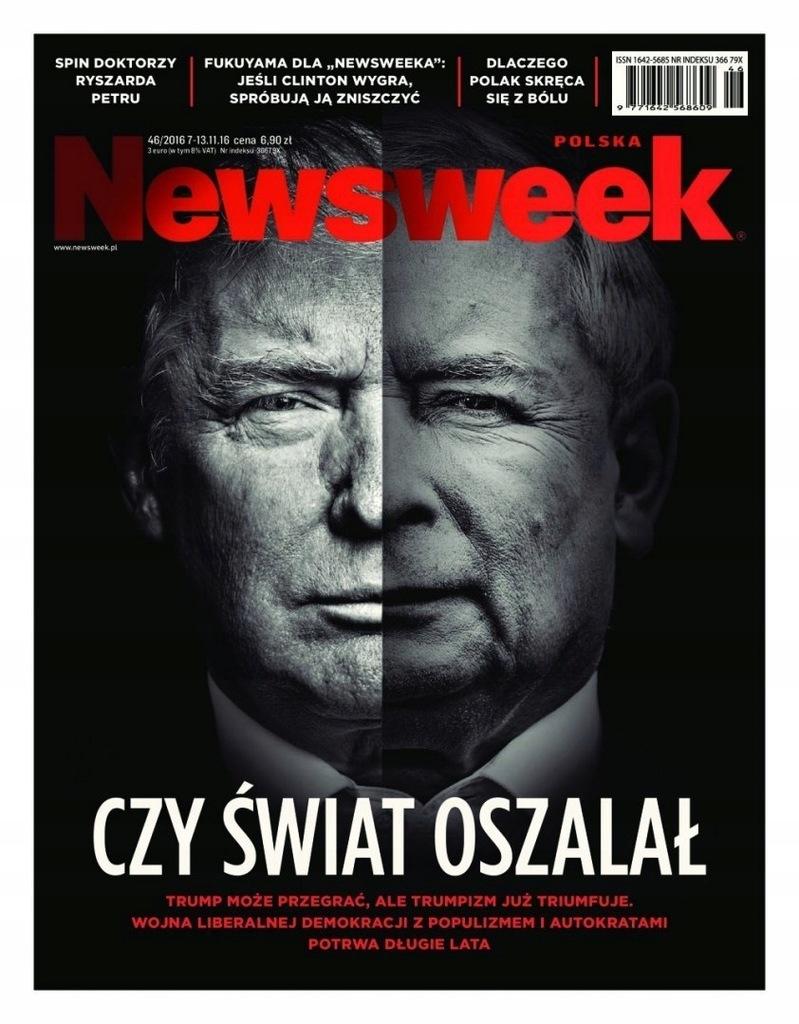Newsweek Polska 46 2016 7582234211 Oficjalne Archiwum Allegro