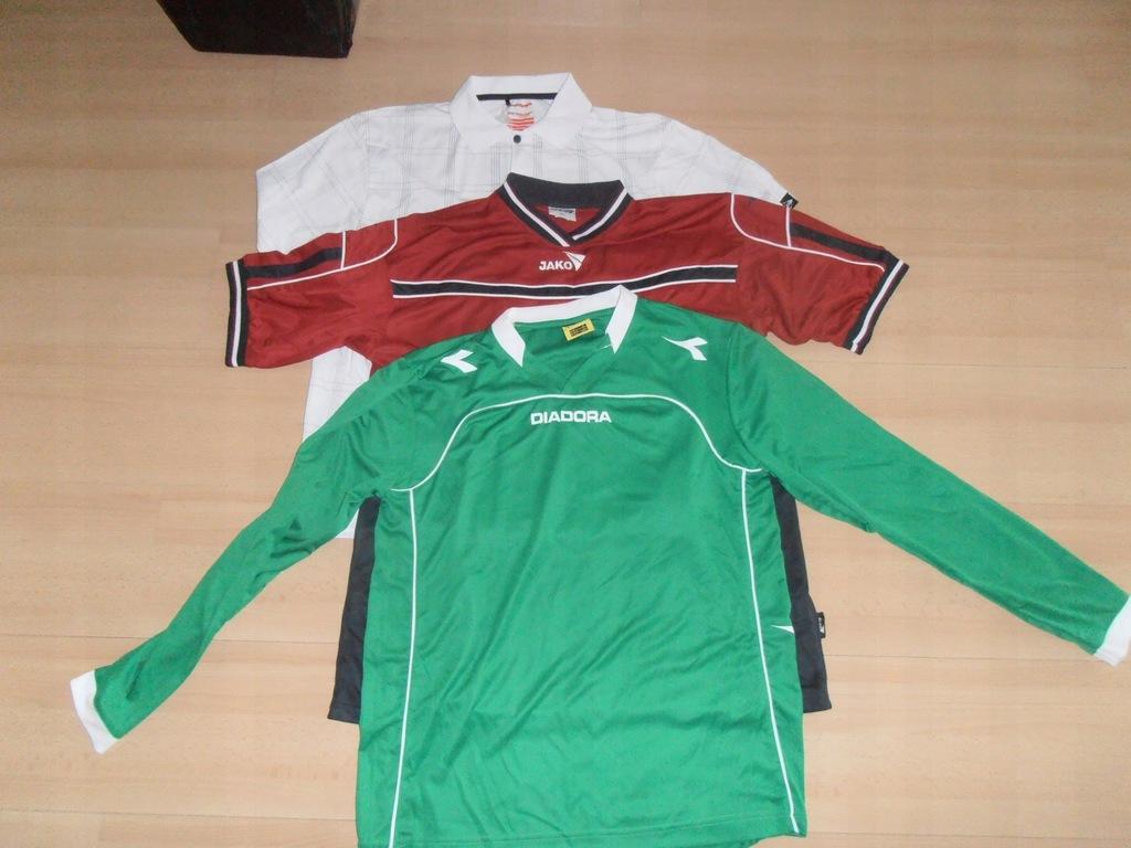 DUNLOP DIADORA JAKO -sportowe koszulki M/XL