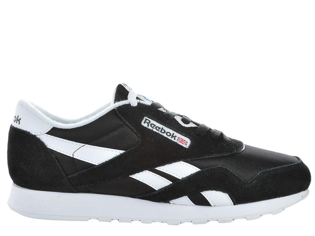 Reebok Classic Buty CL Nylon Reebook Classic Sneakersy damskie czarne w