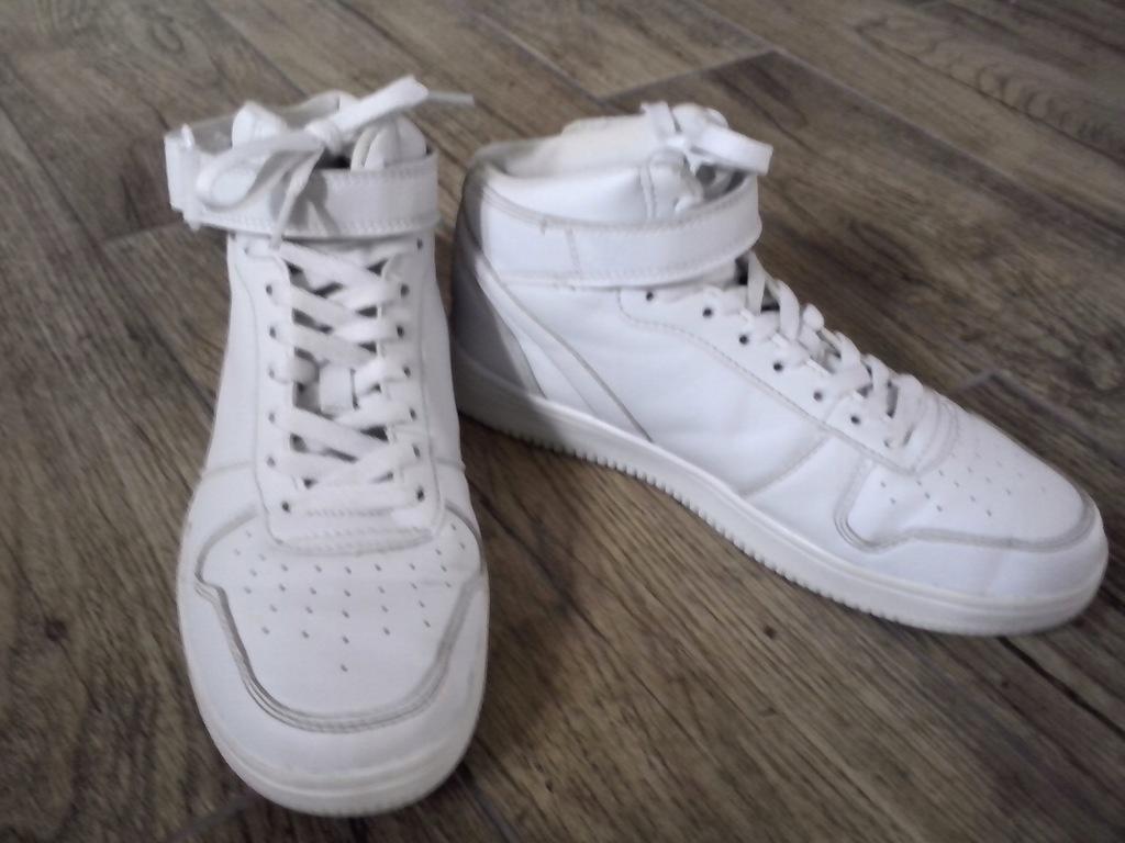 Buty białe wysokie NewYorker r. 38 (24) jak adidas