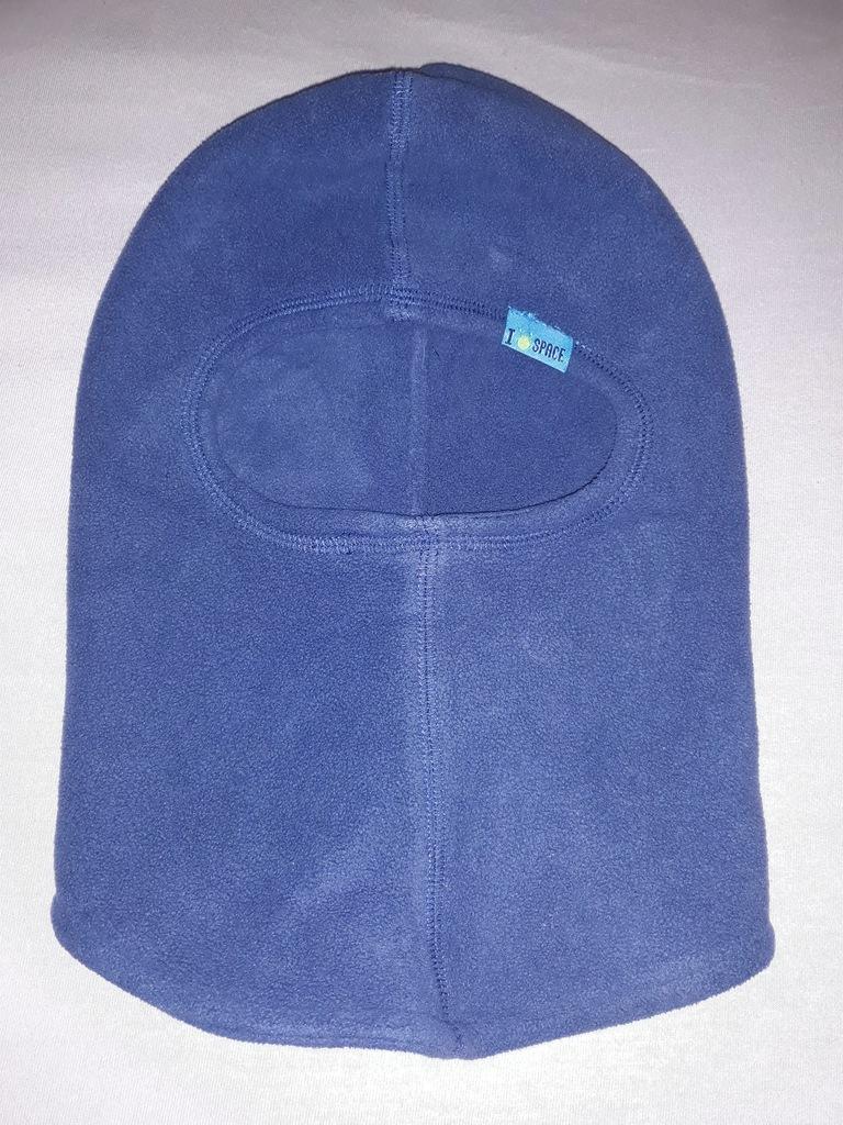 czapka smyk polarowa kominiarka 6-8 lat