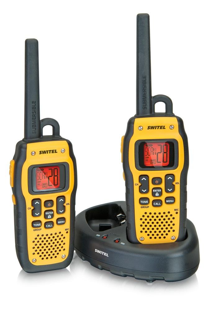 Switel WTF 800 [wodoodporne walkie-talkie radio]