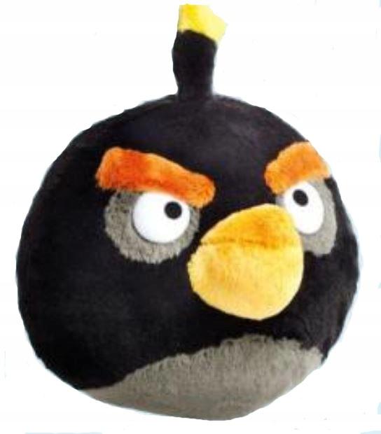 Angry Birds Maskotka Bomba Czarny Ptak Sr 20 Cm 7757775161 Oficjalne Archiwum Allegro