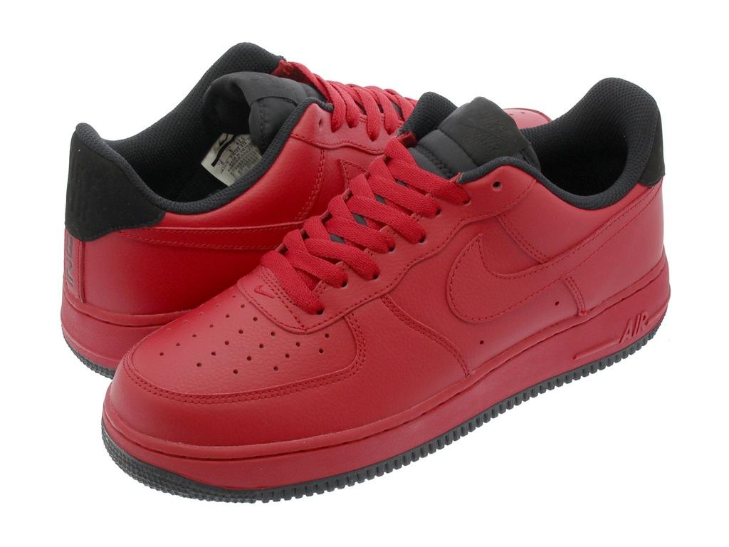 Buty Nike Air Force 1 '07 czerwone 315122 613