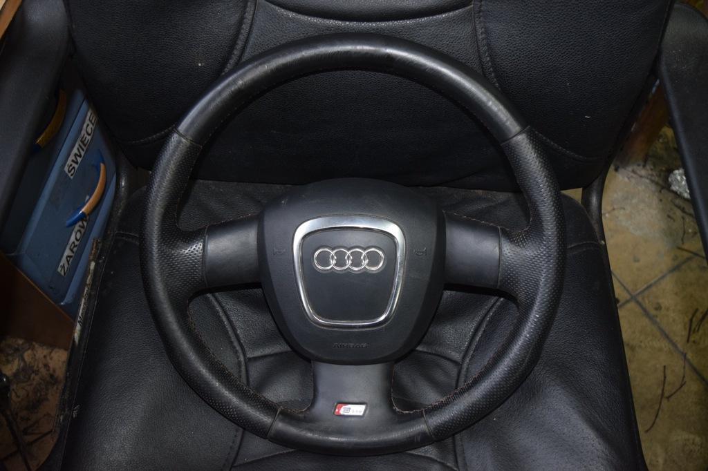 Kierownica Audi A3 8p Skora Sportback Ostroleka 7231432219 Oficjalne Archiwum Allegro