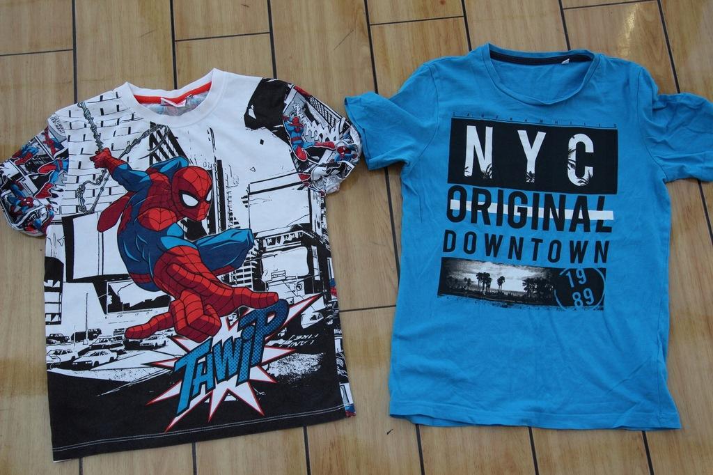 C&A Spiderman koszulki t-shirty 146 152