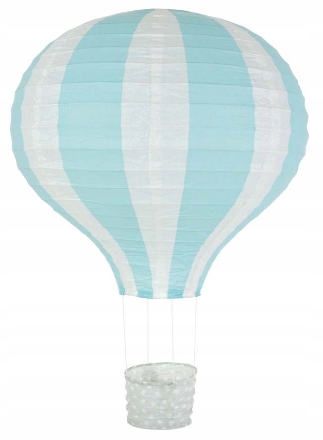 Klosz do lampy balon jasnoniebieski JaBaDaBaDo