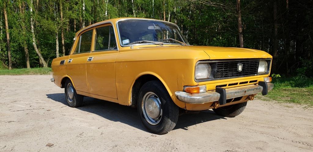 AZLK Moskwicz 1500 model 2140 klasyk