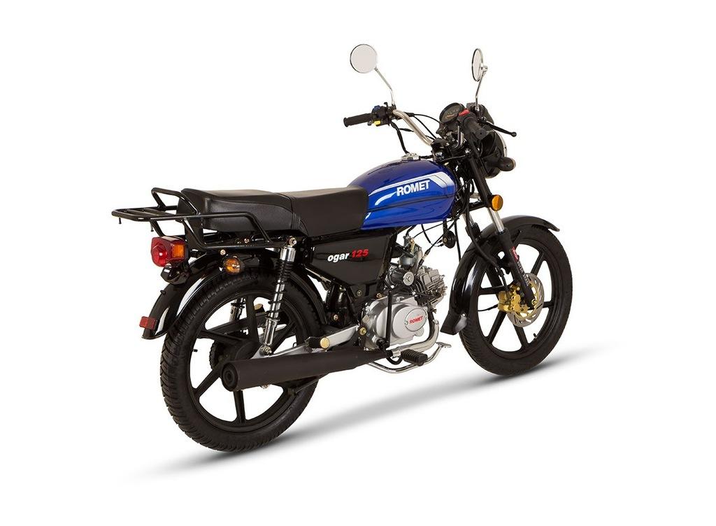 Motocykl Romet Ogar 125 17 4t Niebieski 2015 6918484605 Oficjalne Archiwum Allegro