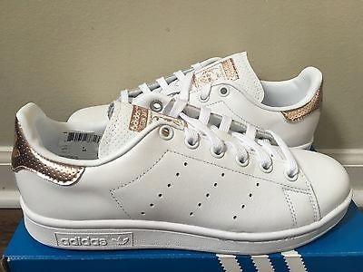 auténtico elige auténtico en pies imágenes de Adidas- Stan Smith- White Rose Gold Metallic- 39 - 7640330544 ...