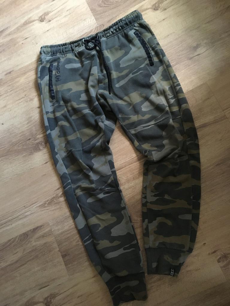 spodnie moro baggy dresy L CROPP