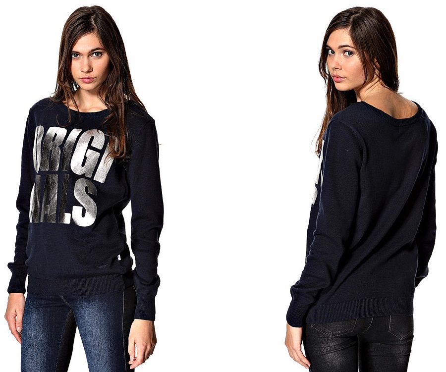 Bluza Adidas Originals G76012 Sweterek Srebr* L 40
