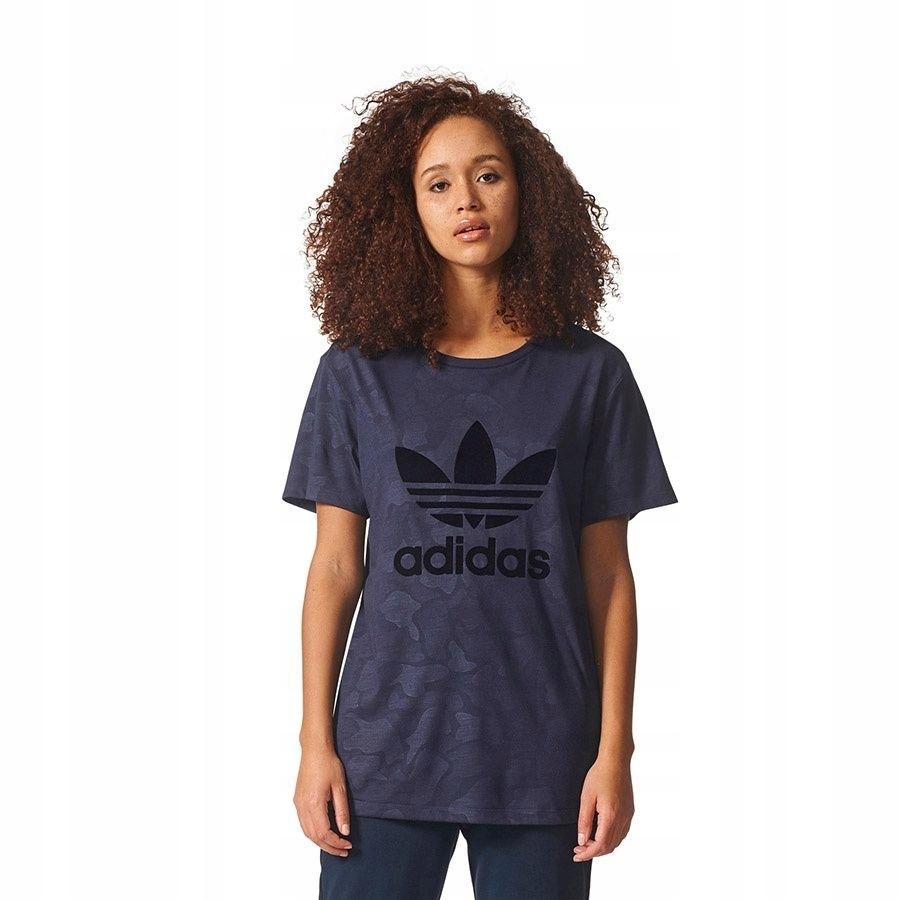 Koszulka adidas Originals Boyfriend Trefoil 36 gra