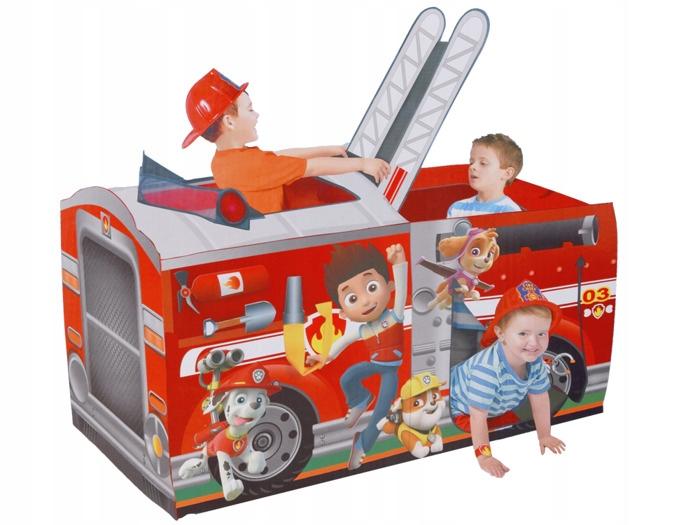 STRAŻ POŻARNA Namiot strażacki +12 kulek ZA2370 7439375592