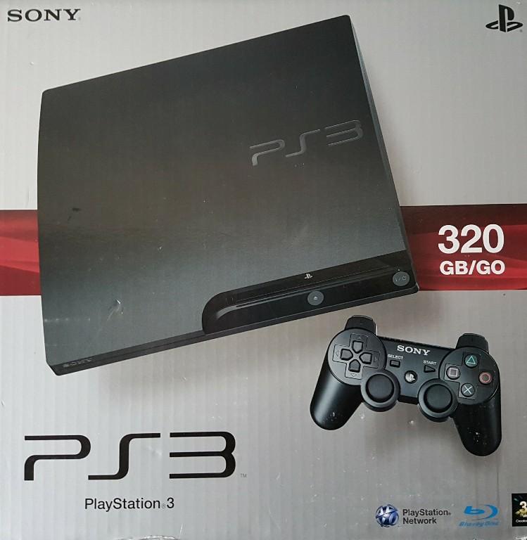 Sony Playstation 3 Ps3 Slim 320gb Pad Gra 7087935721 Oficjalne Archiwum Allegro