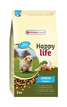 Happy Life - Junior Chicken 3 kg