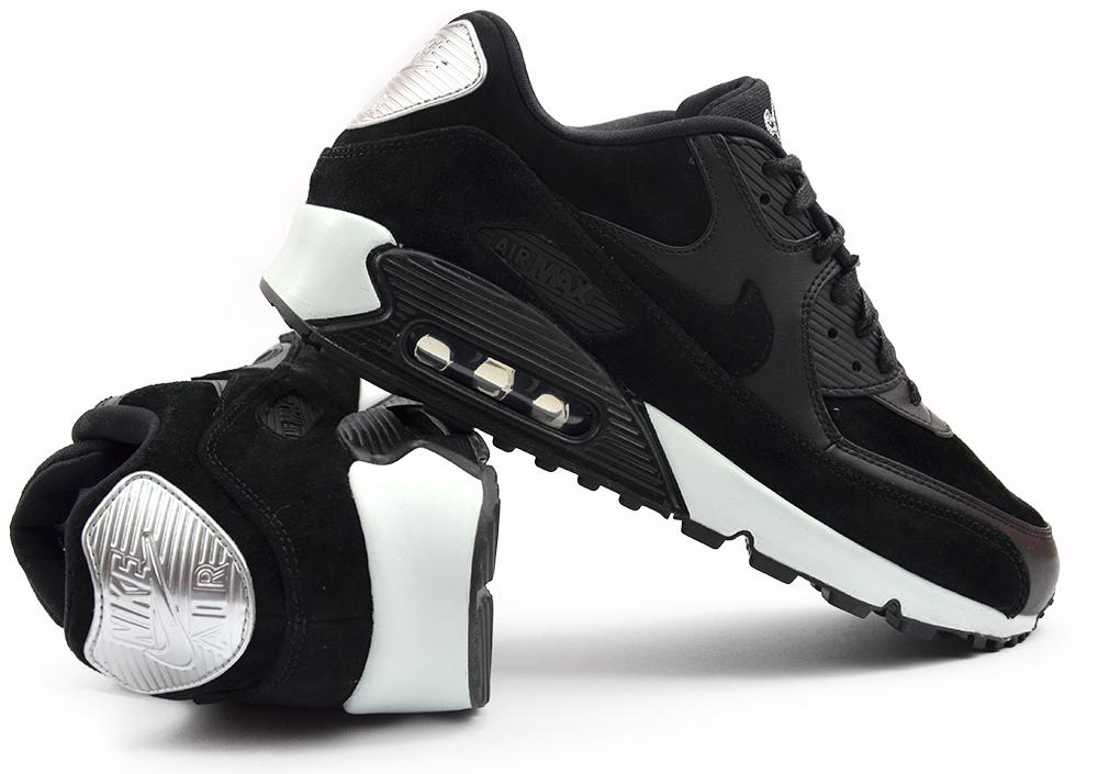 Nike Air Max 90 Premium 'Rebel Skull' Black Off White