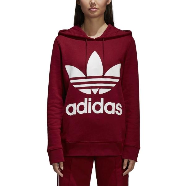 bluza czarna adidas damska trefoil