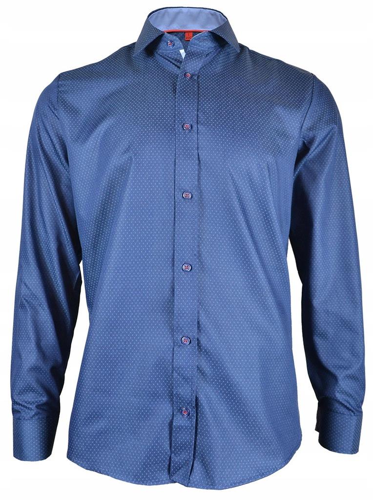 Koszula Malinex 119 Slim_80% Bawełna_M (39 40) 7598607480