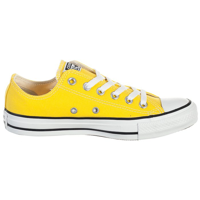 Żółte Damskie Trampki Converse OX 147134C 37