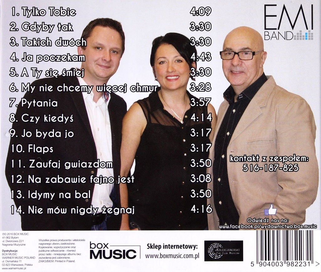 Emi Band Ja Poczekam Cd 7455441305 Oficjalne Archiwum Allegro