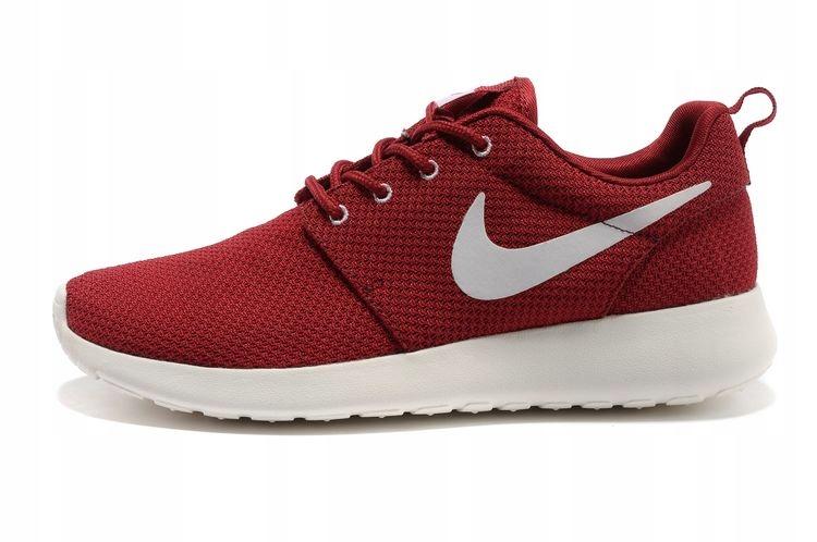 Nowe Buty Nike Roshe Run Burgundowe Bordowe R 44 7389390747 Oficjalne Archiwum Allegro