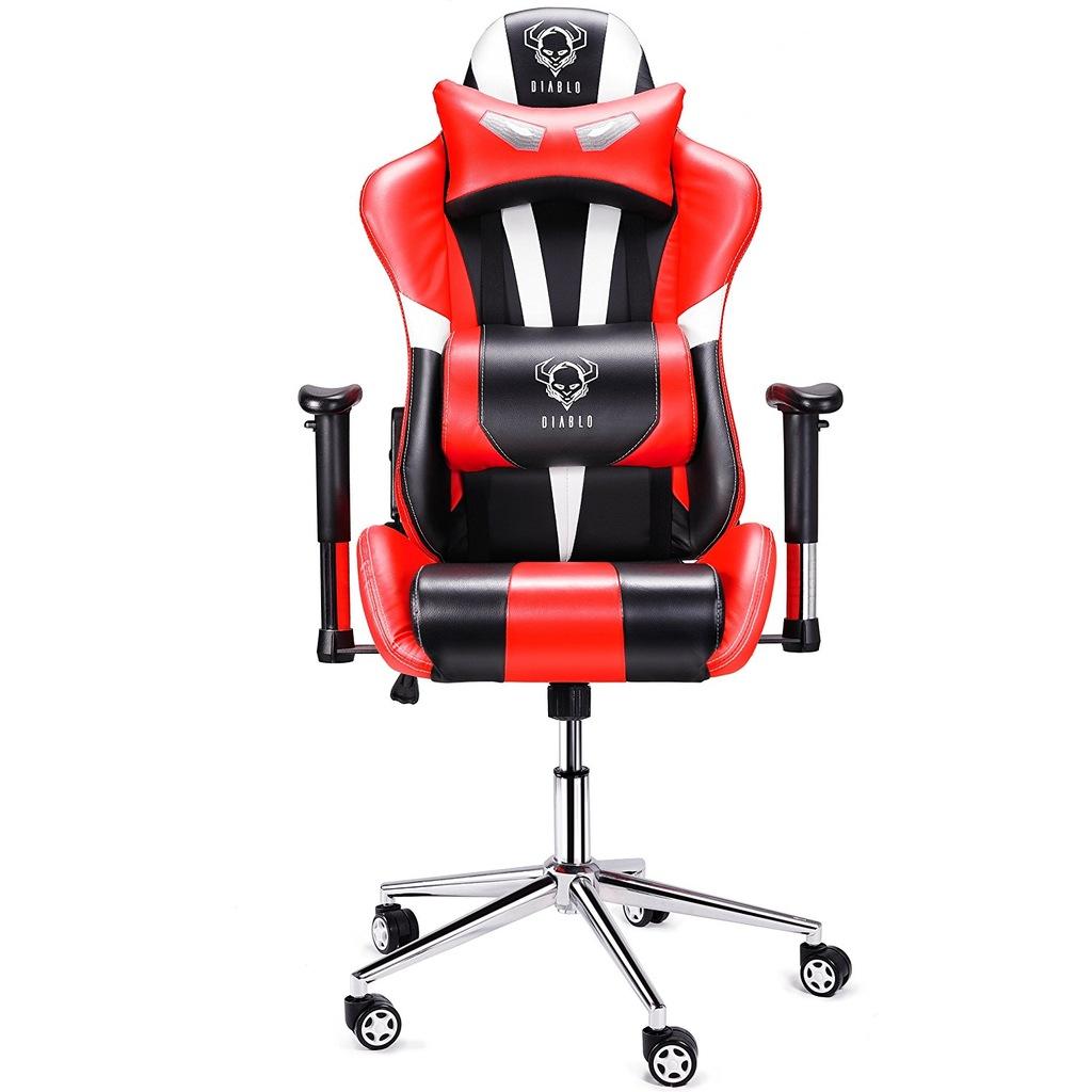 Fotel BIUROWY krzesło obrotowe DIABLO X EYE gracza
