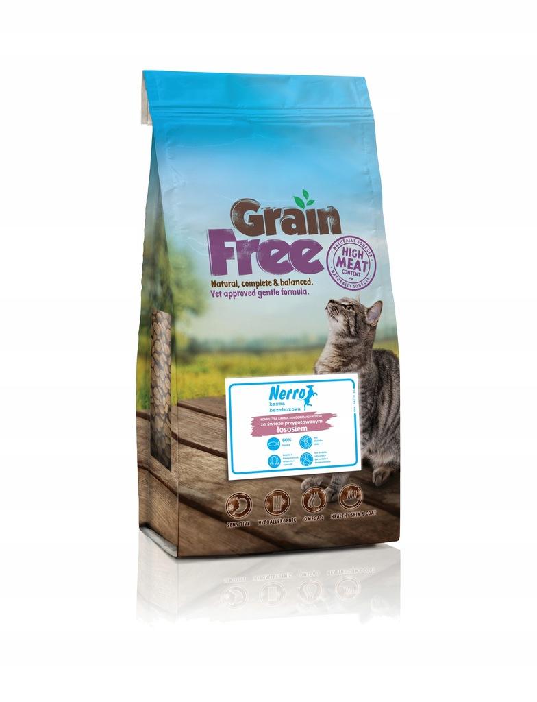 NERRO grain free świeżo przygotowany łosoś 2kg